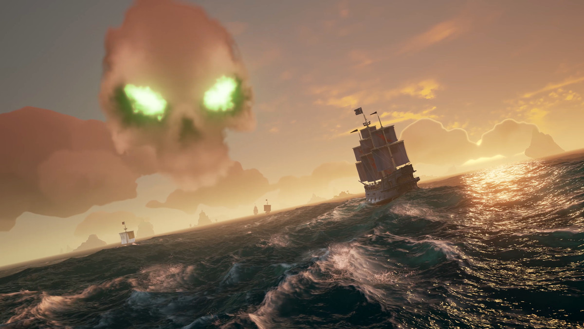 Caleb Goes Fishing – A Sea of Thieves Story