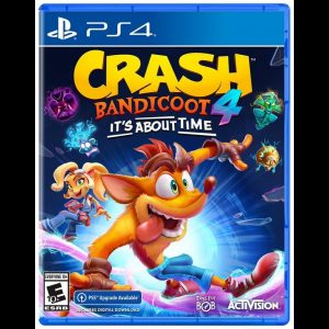 Crash Bandicoot 4: Its about time cover art