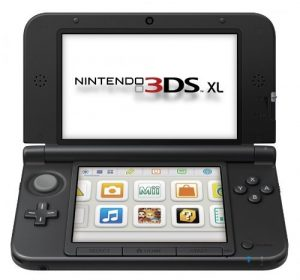 NINTENDO 3DS XL (HANDHELD W/CHARGER)