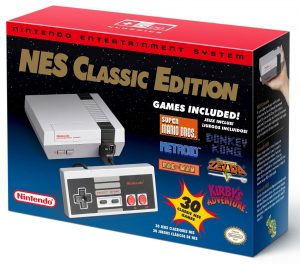 NES CLASSIC (CONSOLE W/TWO CONTROLLERS)