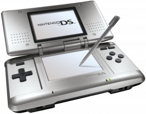NINTENDO DS (HANDHELD W/CHARGER)