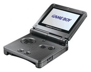 GAMEBOY ADVANCE SP (HANDHELD W/CHARGER *BRIGHT MODEL)