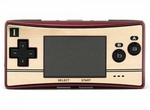 GAMEBOY MICRO FAMICON EDITION (HANDHELD W/CHARGER)